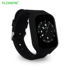 Floveme smart watch ios a ndroid 5.1บลูทูธ4.0ซิลิโคนวงนาฬิกาข้อมือหัวใจrate monitor gpsอุปกรณ์สวมใส่สุขภาพm ontre