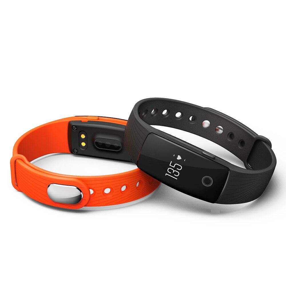 2017 Yeni K107 Bluetooth 4.0 Akıllı Izle Kalp Hızı ve Uyku - Erkek Saatleri - Fotoğraf 4
