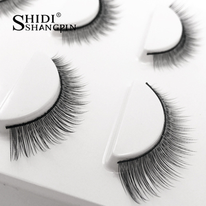 3 pairs Natural False Eyelashes eyelash Extension full strip lash makeup tool Maquillage cilia cilios Eye lashes Faux Cilios