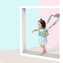 Blue/Pink Toddler Walking Rein Belt Brand Quality Baby Walker Vest Harness Safety Infant Walker Backpack Leash mochila infantil