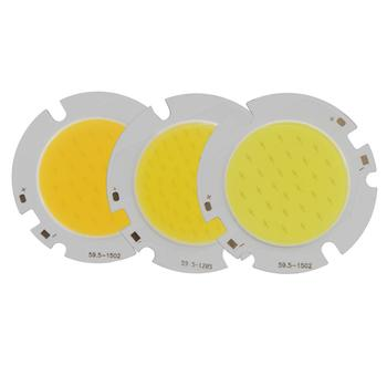 allcob 1pcs 5pcs 10pcs epistar chips Power LED COB round Light Source Module 10W 15W 20W 30W COB Warn Nature White for downlight 1pcs 2pcs 5pcs 10pcs 100