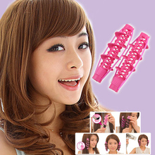 2pcs High Quality Big Wave Curls Rollers Fashion Hair Styling Tools Not Hurt Curlers Magical Tool