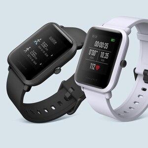 """Image 3 - Amazfit Bip reloj inteligente reflexión pantalla a Color de 1,28 """"Baro IP68 impermeable GPS para Android y iOS (color negro)"""