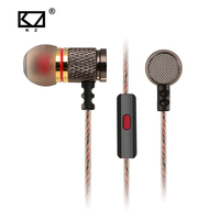 KZ ED2 Special Edition In Ear Earphone Metal Heavy Bass Sound Quality 3 5mm HD HiFi