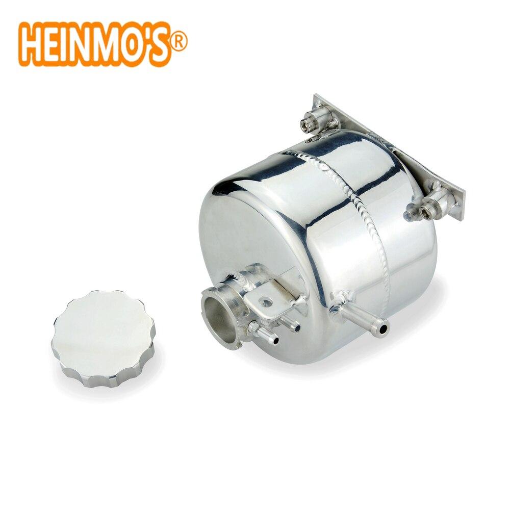 Vase d'expansion de liquide de refroidissement de radiateur en alliage de CNC pour 02-06 R53 MINI Cooper S et 05-08 R52 MINI Cooper S capuchon de Billet Convertible en argent