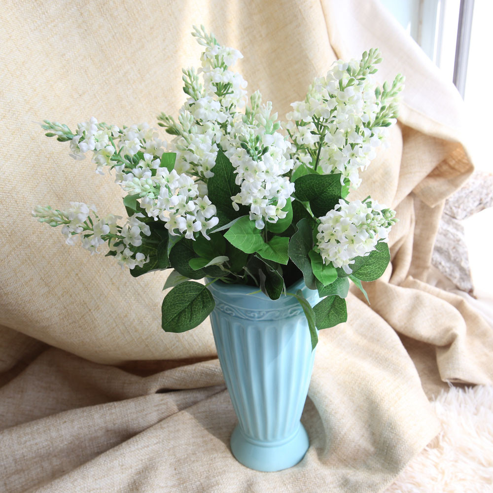 Online get cheap hyacinth bouquets aliexpress alibaba group zooyoo artificial silk fake flowers hyacinth floral wedding bouquet hydrangea decor diy artificial flowers dhlflorist Choice Image