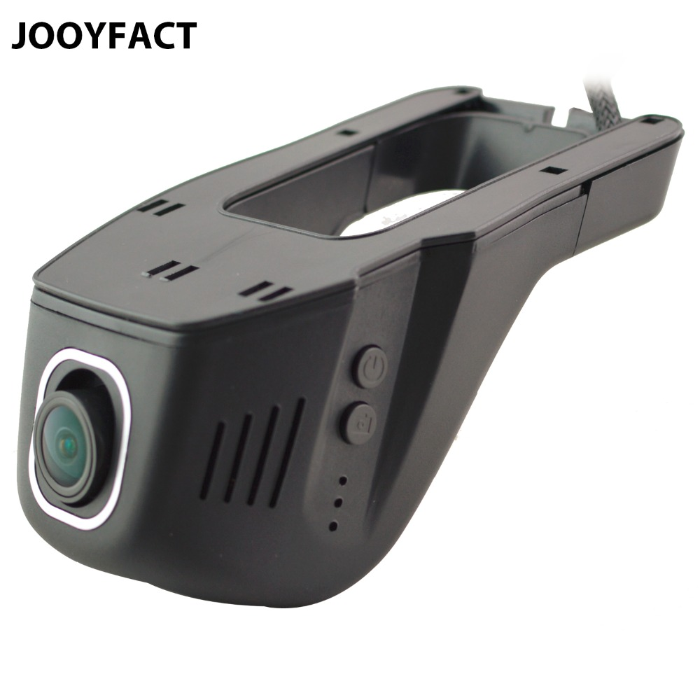 JOOYFACT A1 Car DVR Traço Cam Registrator Gravador de Vídeo Digital Câmera 1080 P Visão Noturna Novatek 96658 IMX 322 323 wi-fi