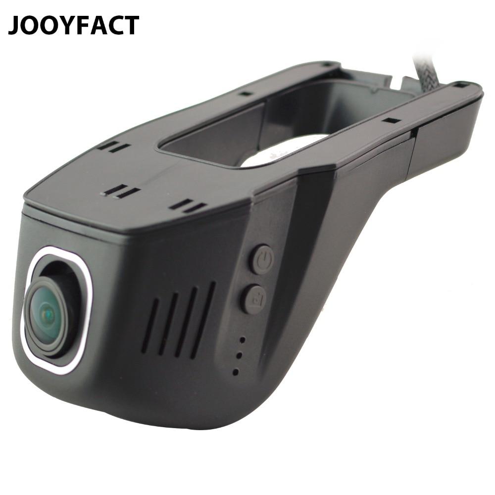 JOOYFACT A1 Dell'automobile DVR Dash Cam Registrator Registratore Video Digitale Fotocamera 1080 P Visione Notturna Novatek 96658 IMX 322 323 WiFi