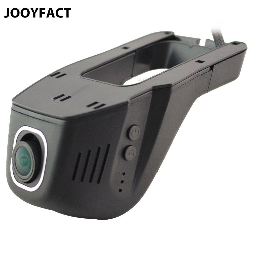 Jooyfact A1 coche DVR Dash CAM registrator videocámara digital cámara 1080 p visión nocturna Novatek 96658 IMX 322 323 wifi