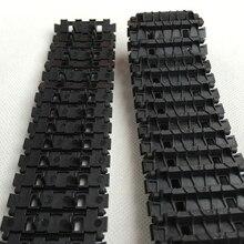 DOIT пластиковый Радиоуправляемый трек-трек для роботизированной Модель Смарт-автомобиля, цепь для гусеничного транспортного средства колючий трек-тип дистанционного управления танк аксессуар DIY RC игрушка