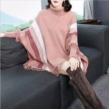 oothandel fringe poncho sweater Gallerij Koop Goedkope