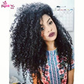 Cheap Malaysian Kinky Curly Virgin Hair With Closure Maxine Hair Products Malaysian Curly Hair 3 Bundles Human Hair With Closure