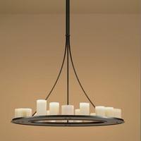 Современная подвесная светодио дный Светодиодная свеча люстра Кевин Рейли хемель математическое кольцо освещение инновационные маленьки