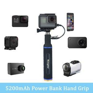 Дополнительный внешний аккумулятор для GoPro Hero 7 6 5 4 3 + Session Xiaomi yi SJCAM EKEN SONY аксессуары для экшн-камер