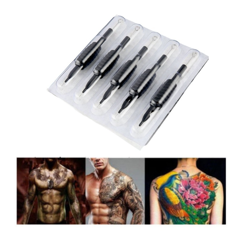 Tattoos And Body Painting 30/60pcs 19mm U-pick Disposable Tattoo Needles Tattoo Grips Tube Grips Set Tattoo AccessoriesTattoos And Body Painting 30/60pcs 19mm U-pick Disposable Tattoo Needles Tattoo Grips Tube Grips Set Tattoo Accessories