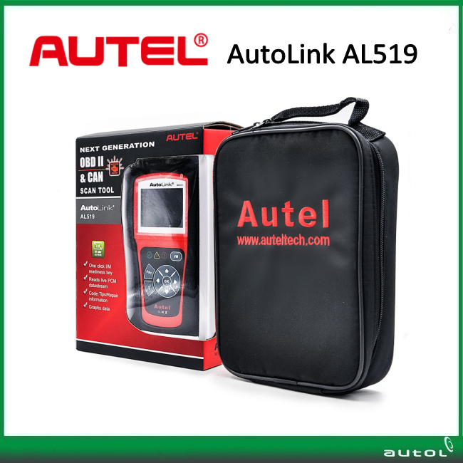 AutoLink AL519 OBDII/EOBD Scanner supports all 10 modes of OBDII test for a complete diagnosis