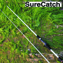 Sure Catch Branded High Quality 6'6″ 100% Carbon Fishing Rod In 2 Sections; Abu Garcia Quality
