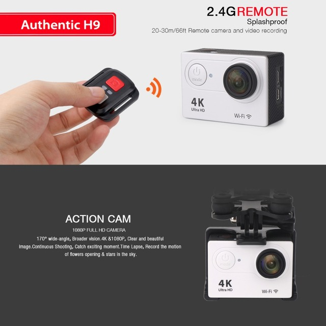 FOR SYMA X8 SYMA X8W SYMA X8G RC Drone Spare Parts H9R 4K Ultra HD Camera or protective Frame with Remote control WIFI Camera