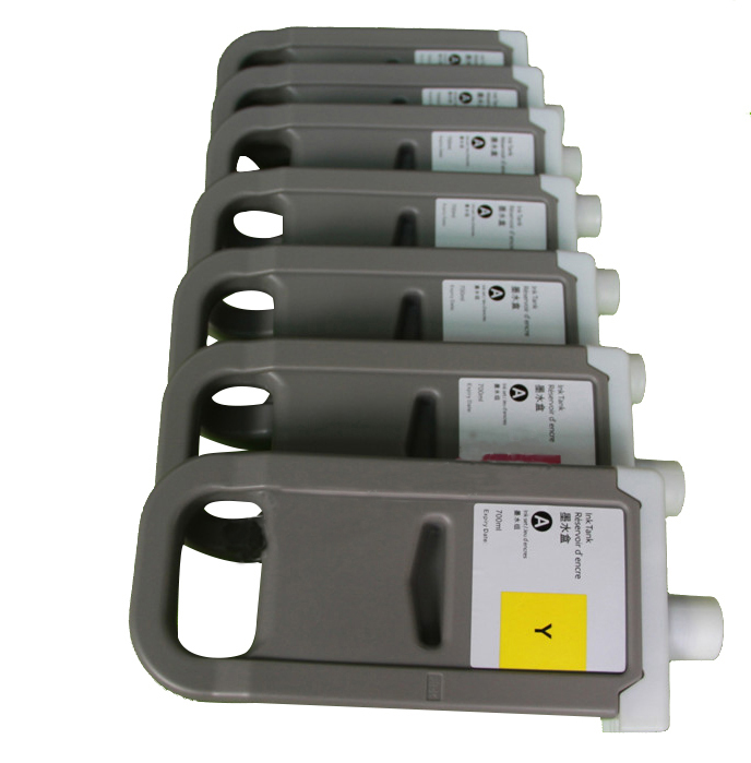 JIANYINGCHEN cartouche d'encre compatible remplacement pour PFI-706 pour Canon IPF8400s iPF9400s 8410 9410 (8 pcs/lot)