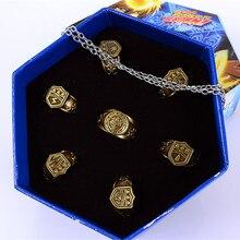Ювелирное кольцо аниме kateyo Hitman Reborn Sawada Tsunayoshi Косплей кольца Vongola