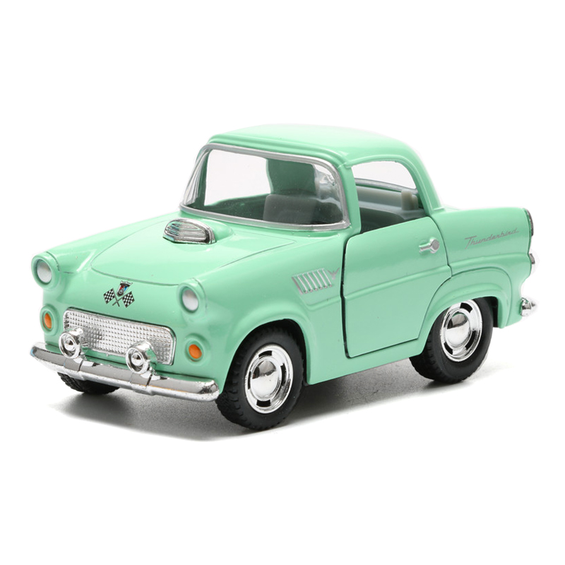 Vintage Car Model Toy Alloy 1955 Classic Car Simulation Vehicle ...