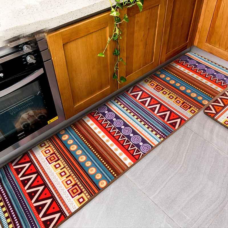 US $19.5  Kitchen Floor Mat Colorful Children Bedside Carpet Soft Thick Kid  Room Floor Blanket Yoga Mat Rug And Carpets-in Carpet from Home & Garden ...