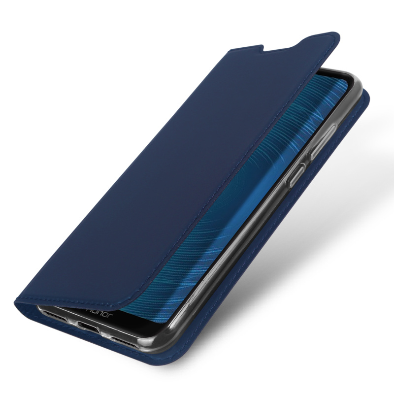 Original Dux Ducis Pu Leather Case For Huawei Honor 8a Luxury Ultra Thin Stand Flip Cover For Huawei Honor 8a Wallet Phone Cases in Flip Cases from Cellphones Telecommunications