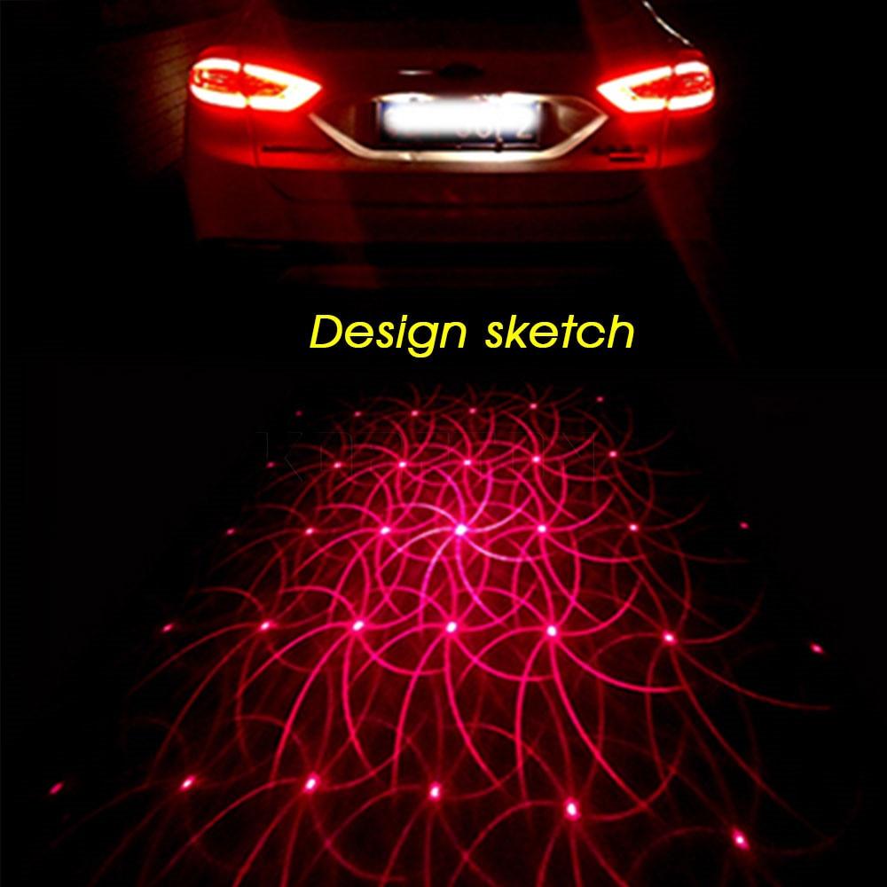 luz de estacionamiento trasera Luces de freno para coche de 24 ledes luz de advertencia