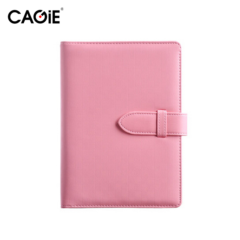 CAGIE A5 Fashion Spiral Pu Leather Notebook Candy Colors Women Personal Diary Planner Agenda Filofax Sketchbook Travel Journal sketchbook diary agenda planner organizer planner spiral notebook a5 planner binder address book notebook filofax exercise book