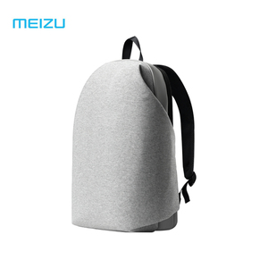 Image 3 - Original Meizu backpacks Waterproof School Backpack brief style Large Capacity Student Bags Laptop For iPad Macbook bag