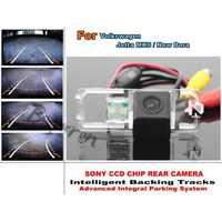 For Volkswagen VW Jetta MK6 / New Bora Smart Backing Tracks Camera / HD CCD Dynamic Tragectory Rear View Parking Reverse Camera