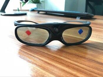 30 pc leve obturador ativo recarregável óculos óculos 3d para projetor dlp link nova chegada dlp link projetor óculos 3d 1
