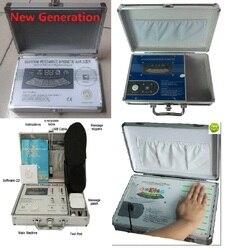 Boa qualidade novo massageador corpo analisador em inglês espanhol ou outras línguas versão dhl frete grátis