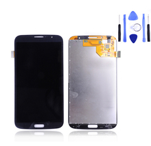 New Original For Samsung Galaxy Mega 6.3 i9200 i9205 LCD Display Touch Screen Digitizer Assembly + Tools Free shipping Black