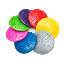 1PC Soft Balance Pad Yoga Massage Mat Block Thick Cushion Disk Fitness Training Pilates Board