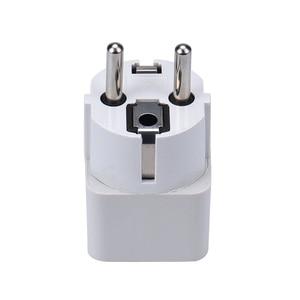 Usb smart Socket 1pc eu plug Universal US/AU/UK/EU Plug Adapters travel adapter electric fork Wall AC Power Adapter dropshipping