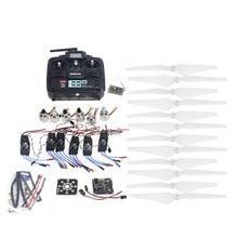 RC HexaCopter ARF Electrónico: 30A ESC Motor 920KV de KKMulticopter V2.3 Junta Propulsor Control T6EHP-E RX y RX F14711-J