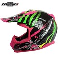 Light weight safety Open Face Motorcycle Helmet motor bike helmet for with long windshield washable and removable liner