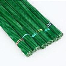2mm 40cm Papier Bedeckt Künstliche Zweige Zweige Eisen Draht Für Nylon Blume Zubehör Seide Blume Material Bouquet Handwerk decor