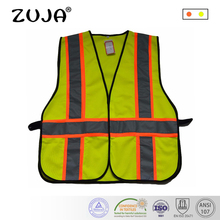 Good Quality High Visibility Reflective Waring Safety Vest