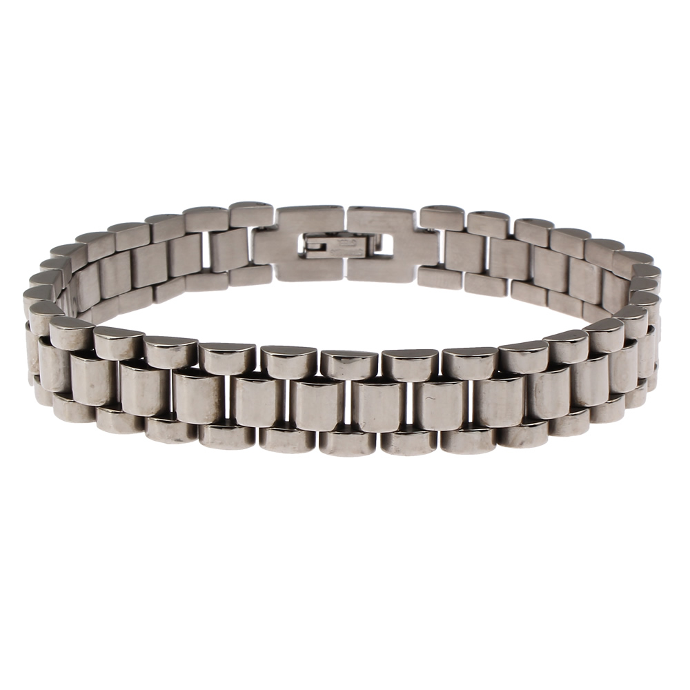 Stainless Steel Jewelry Bracelet,western Jewelry, Oril Color, 10x3mm, Sold  Per Approx