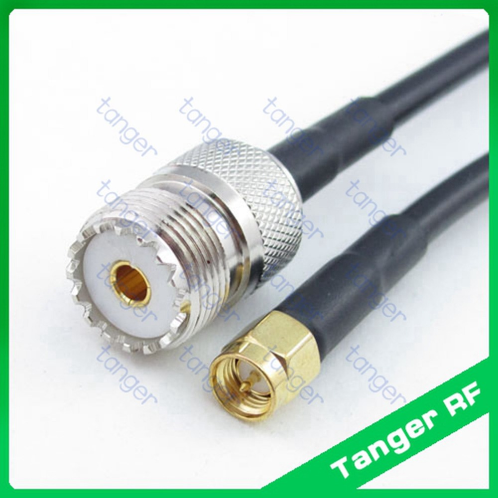 3 feet RG58 BNC Male to RCA Male Pigtail Jumper RF coaxial Cable 50ohm Quick USA Shipping