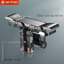 T10S мобильный игровой огонь Кнопка Aim ключ смартфон мобильный игровой курок L1R1 шутер контроллер сплав покрытие версия для PUBG