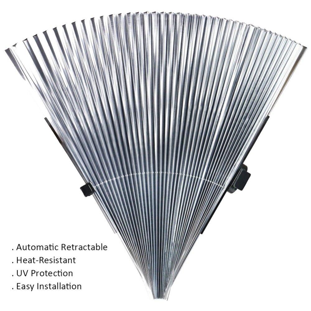 Permalink to Retractable Car Windshield Visor Shutter Type Window Sun Shade Blinds Windscreen Sun Shades Anti UV Sunshades 46x160cm