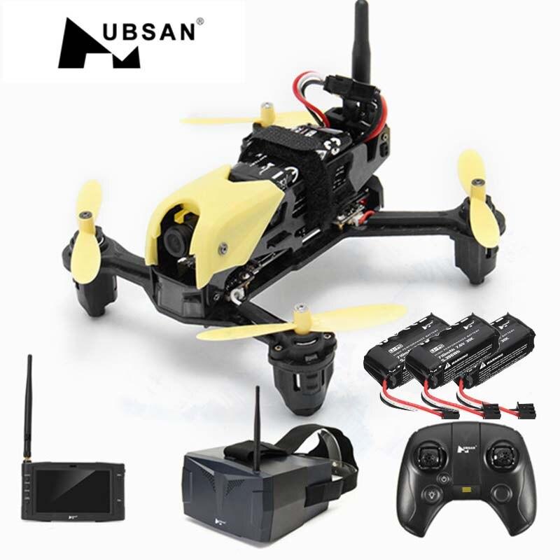 Hubsan H122D X4 5.8g Multi Batterie Version FPV 720 p Caméra Micro Racing RC Quadcopter Caméra Drone Lunettes Compatible fatshark