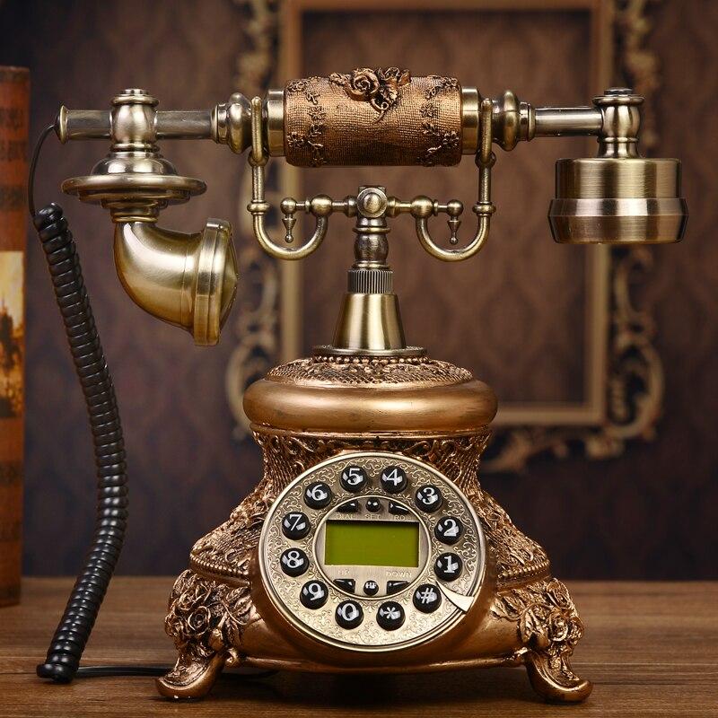 The classical European style retro telephone high-grade household telephone new antique telephone corded phone ringing tones