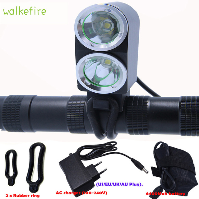 Buy Walkfire Bicycle Light 2 X T6 Lamp Bike