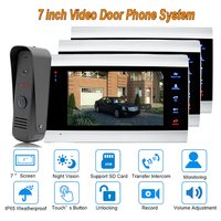 2017 Best Video Door Phone VDP With Clear Sound And Picture With Intercom Systems Ip65 Rainproof