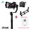 Zhiyun Crane 3 axis Handheld Stabilizer Gimbal for DSLR Canon Cameras Support 1.2KG PK Beholder DS1 MS1 EC1 Zhiyun Crane M MG V2