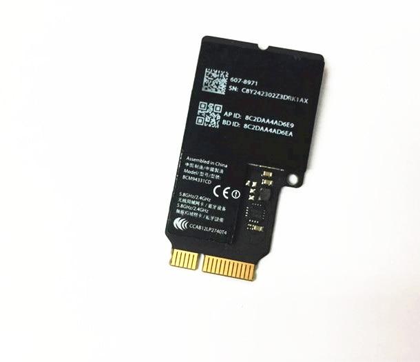 SSEA Wholesale For Broadcom BCM4331 BCM94331CD FOR IMAC A1418 A1419 802.11a/b/g IEEE Wifi + Bluetooth 4.0 Mini PCI-E Card